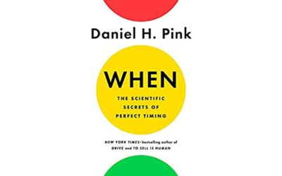 Daniel Pink – WHEN (livre en anglais)