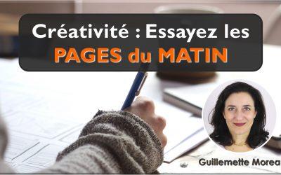 Créativité : Essayez les PAGES du MATIN